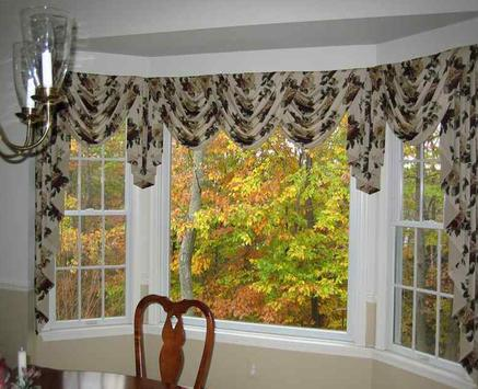 Bay Window Curtains poster