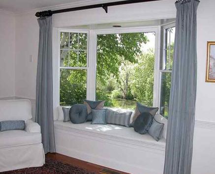 Bay Window Bedroom poster