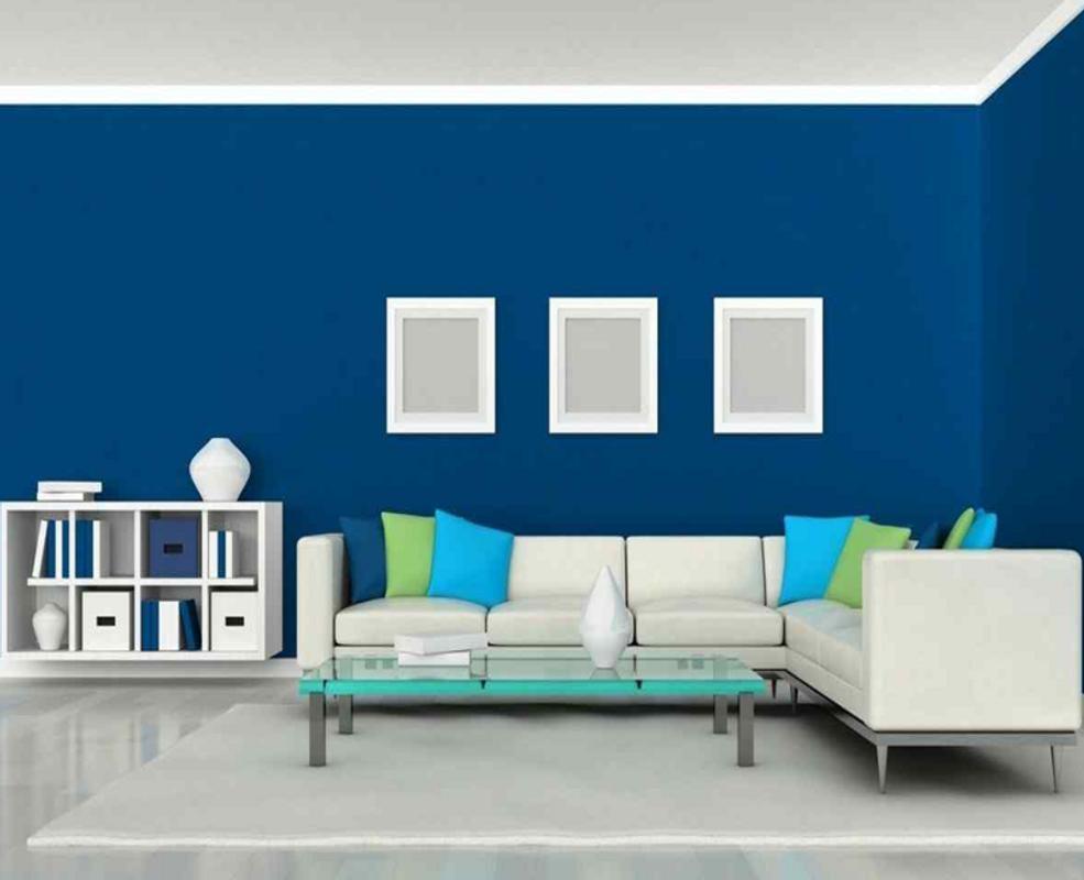 Ruang Tamu Cat Biru Poster Screenshot 1