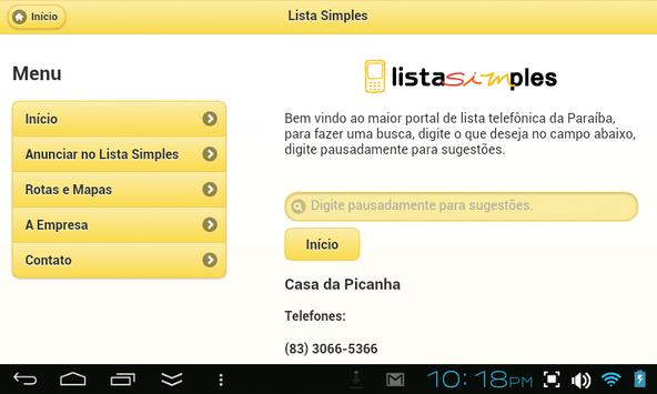 Lista Simples screenshot 3