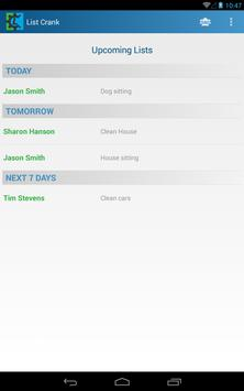 ListCrank task list manager screenshot 3