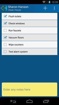 ListCrank task list manager screenshot 2