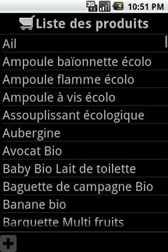 Mes listes de courses apk screenshot