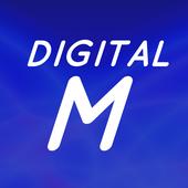digital m icon
