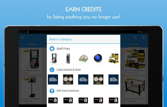 Listia: Buy. Sell. Free Stuff apk screenshot