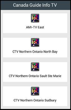 Canada Guide Info TV poster