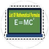 List Of Mathematical Formulas icon
