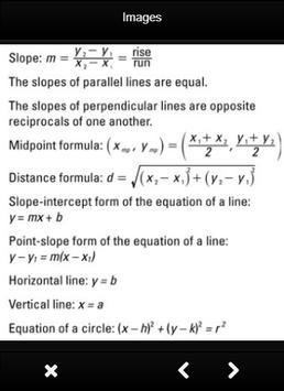List Of Mathematical Formulas apk screenshot