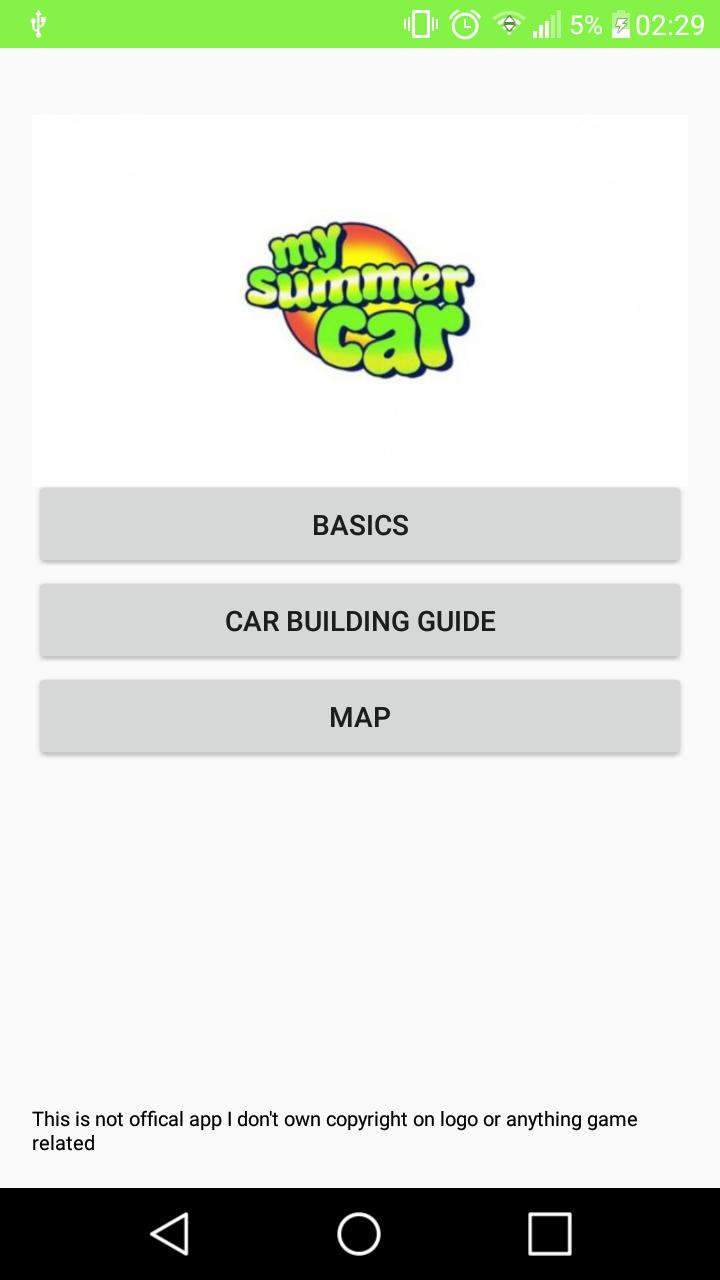 My Summer Car Mapa.My Summer Car Guide For Android Apk Download