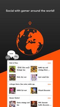 GAMily - Social App for Gamers poster