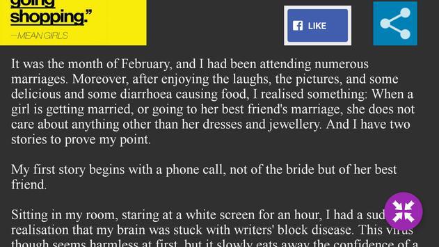 Arjuun: Love Stories & Poems screenshot 5