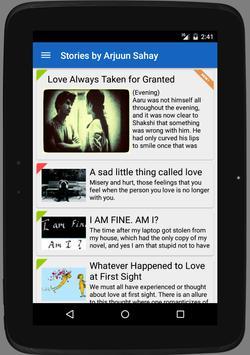 Arjuun: Love Stories & Poems screenshot 8