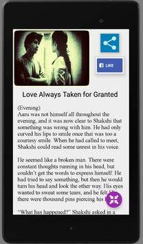 Arjuun: Love Stories & Poems screenshot 10