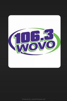 WOVO 106.3 poster