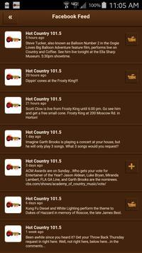 Hot Country 101.5 screenshot 3