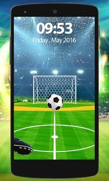 Football Screen Lock apk screenshot