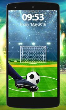 Football Screen Lock poster