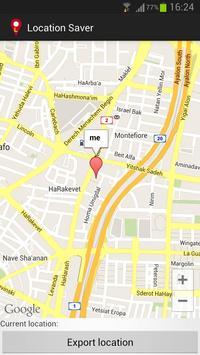 Location Saver apk screenshot