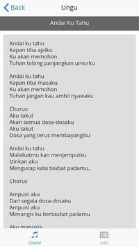 Lirik Lagu Ungu screenshot 1