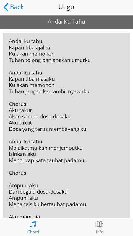 Lirik Lagu Ungu