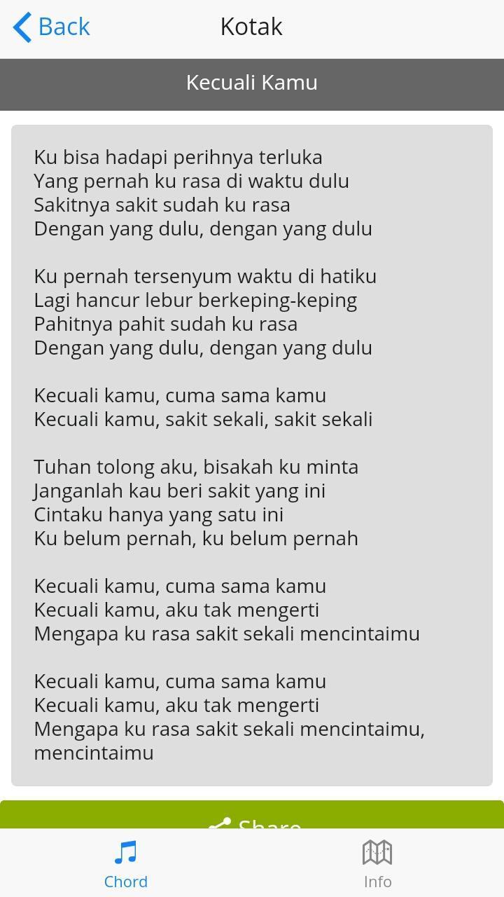 Lirik Lagu Kotak For Android Apk Download