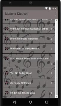 || Marlene Dietrich || Lili Marleen*Music & Lyrick apk screenshot