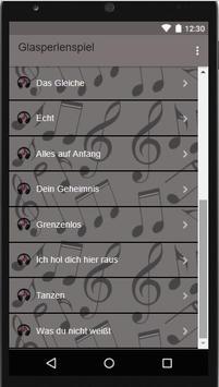 || Glasperlenspiel || Nie vergessen*Music & Lyrick apk screenshot