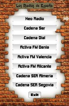 Los Radios de España screenshot 1