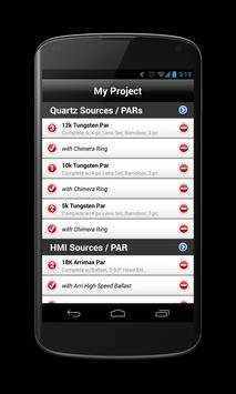 TechScout Touch, Lighting apk screenshot