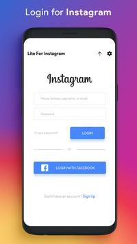 Lite for Instagram: Story Saver, Save & Repost poster