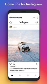 Lite for Instagram: Story Saver, Save & Repost screenshot 1