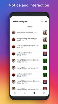 Lite for Instagram: Story Saver, Save & Repost screenshot 2