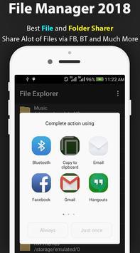 File Manager 2018 – Free File Explorer and Browser apk screenshot