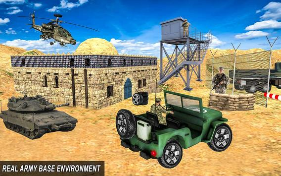 Army Truck 4x4 Check Post poster