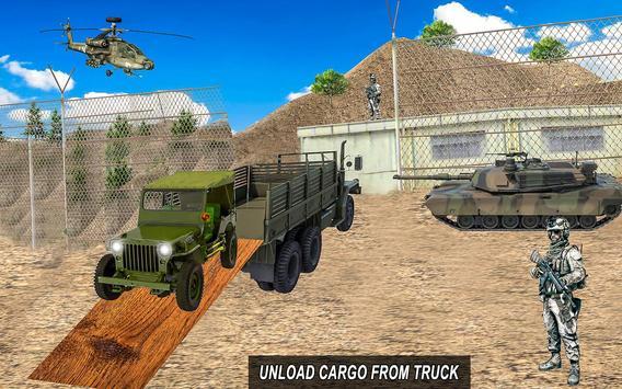 Army Truck 4x4 Check Post apk screenshot
