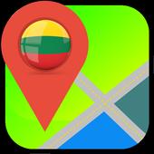 Lithuania Map icon