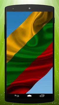 Lithuanian Flag Live Wallpaper apk screenshot