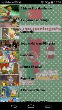 Cuentos portugueses apk screenshot