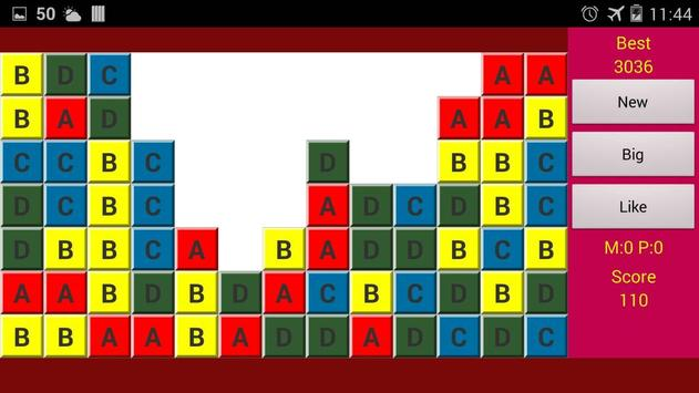 Same Game ABCD screenshot 2