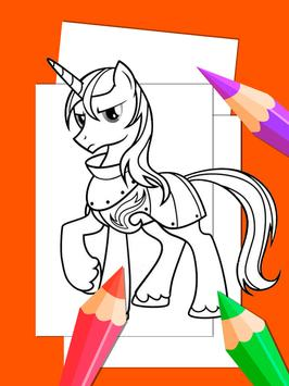 Little Pony Drawing Book For Adult screenshot 4