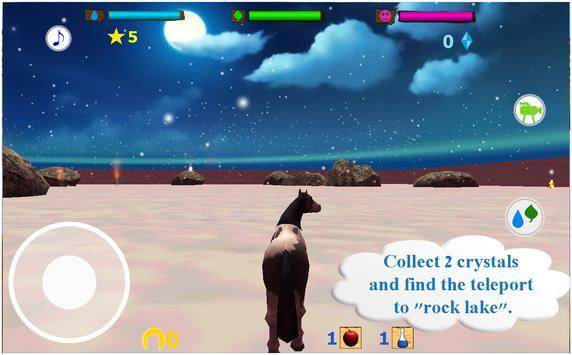 Horse Simulator 3D Animal lives 3D apk screenshot