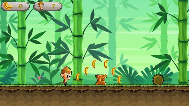 Endless Monkey Run - Fun Games poster