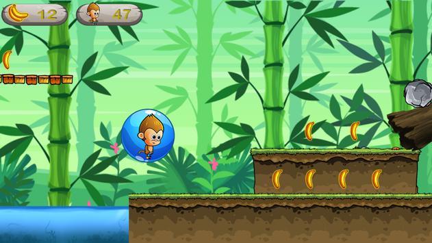 Endless Monkey Run - Fun Games apk screenshot