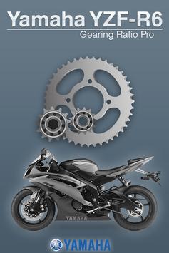 Yamaha R6 Gear Ratio Pro poster