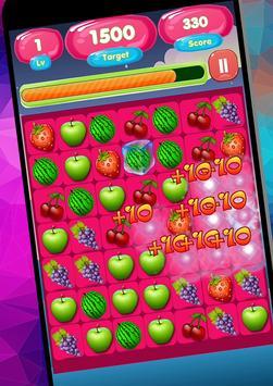 Candy Fruit Match screenshot 1