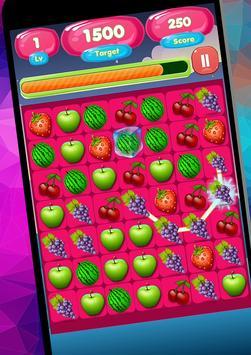 Candy Fruit Match screenshot 2