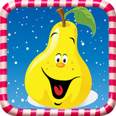 Sweet Fruit Candy Game Free icon