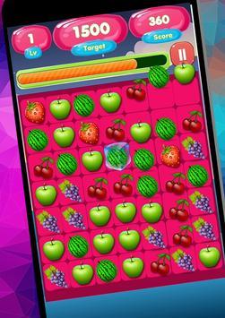 Sweet Fruit Candy Game Free screenshot 5