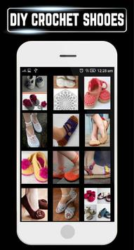 DIY Shoes Crochet Baby Booties Slipper ladies Home poster