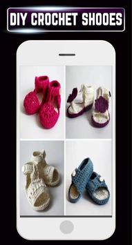 DIY Shoes Crochet Baby Booties Slipper ladies Home apk screenshot